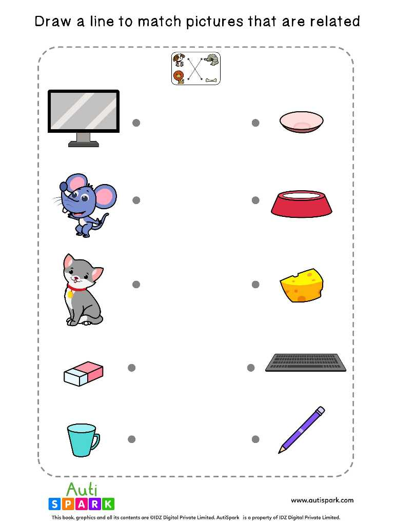 Match Related Worksheets 7