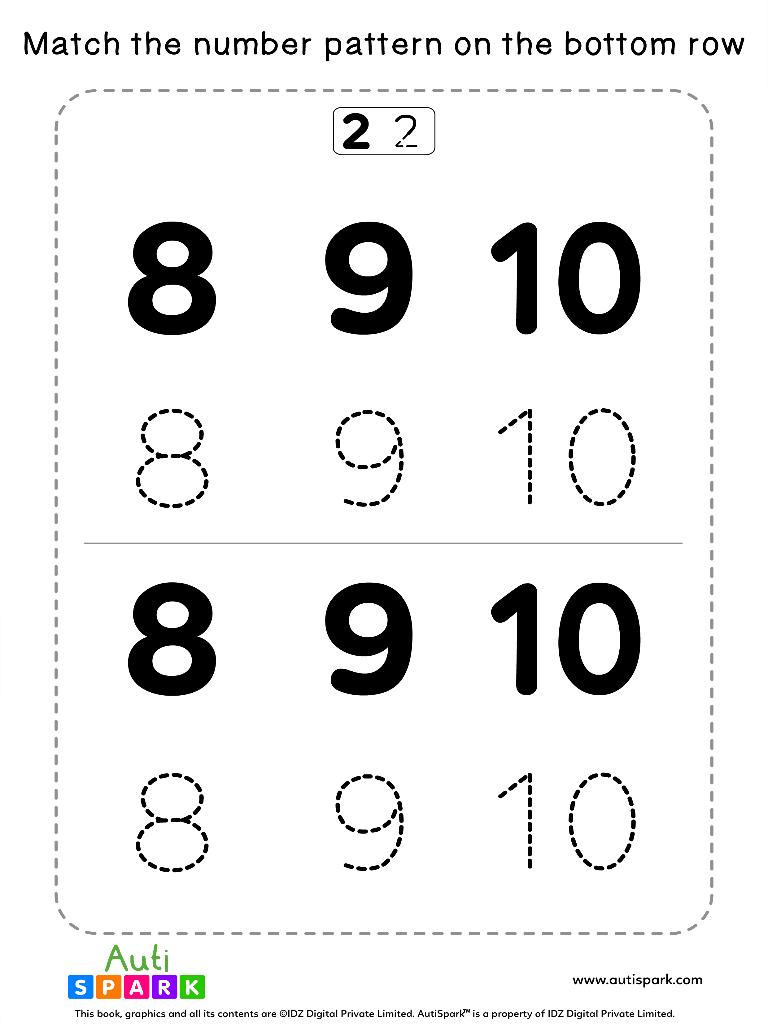 NumberTracingWorksheet 13