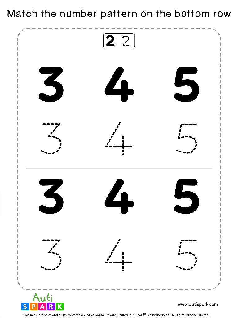 NumberTracingWorksheet 8