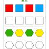 ShapeColoringWorksheet 2