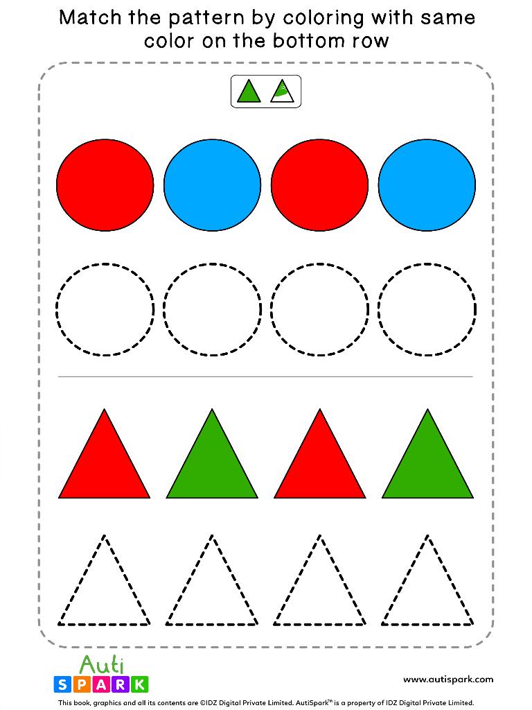 ShapeColoringWorksheet 4
