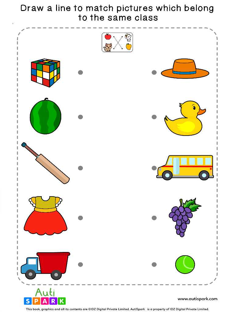 Match By Class Worksheet 5