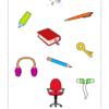 Sort The School Objects Worksheet 6