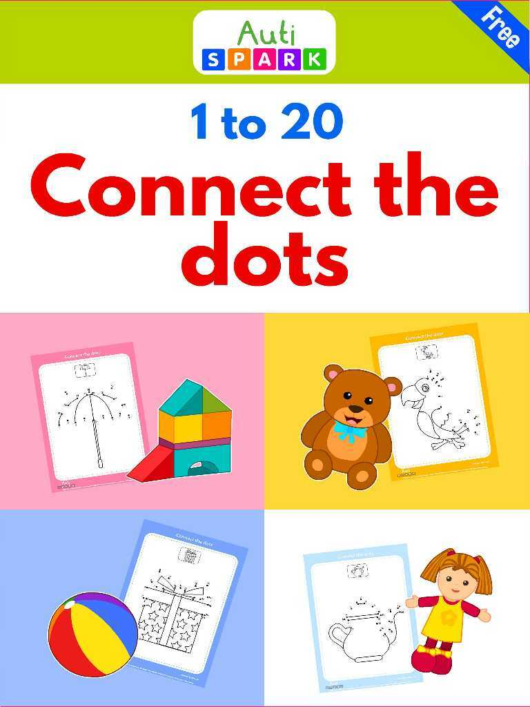 Connect The Dots 1-10 : Fun Dot To Dot Printable Workbook 3