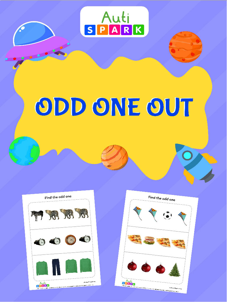 Odd One Out – Activity Workbook