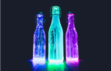 lightening bottle